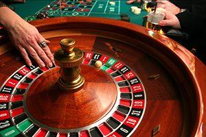In het casino